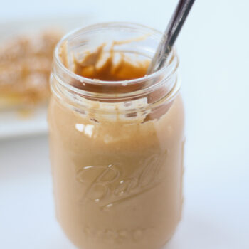 Making your own cashew butter is quick and easy! Use it just like you would use peanut butter, spread on toast or fruit, mix into a savory sauce or make a batch of cookies!