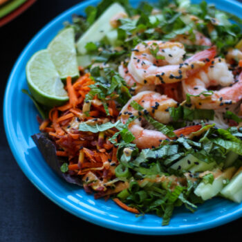 Deconstructed Spring Roll Salad