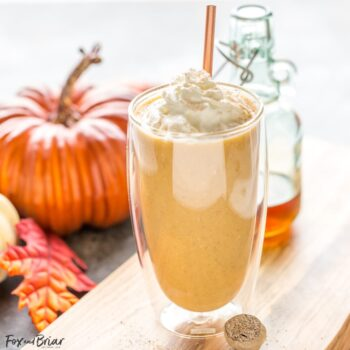 Healthy Pumpkin Pie Smoothie