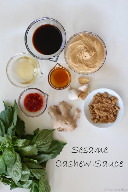 Sesame Cashew Sauce