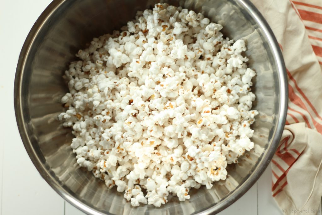 Here is my tried and true FAVORITE way to make popcorn!