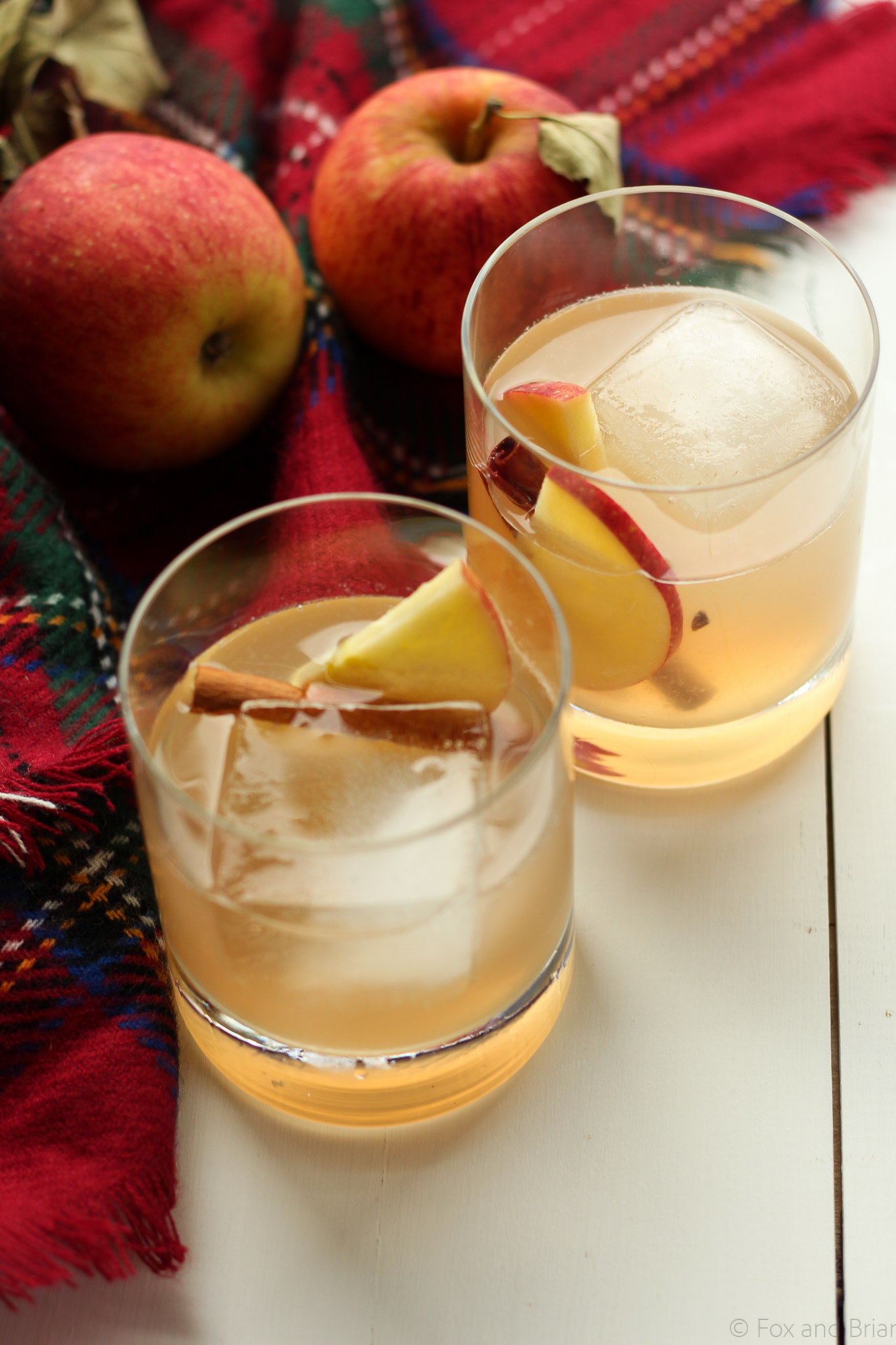 Maple Whiskey Cider from Fox and Briar