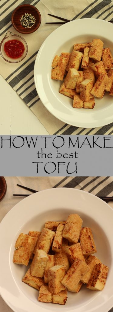 If you think you hate tofu, try this recipe -it shows you how to make tofu that actually tastes good!