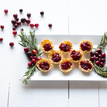 Cranberry Brie Mini Tarts