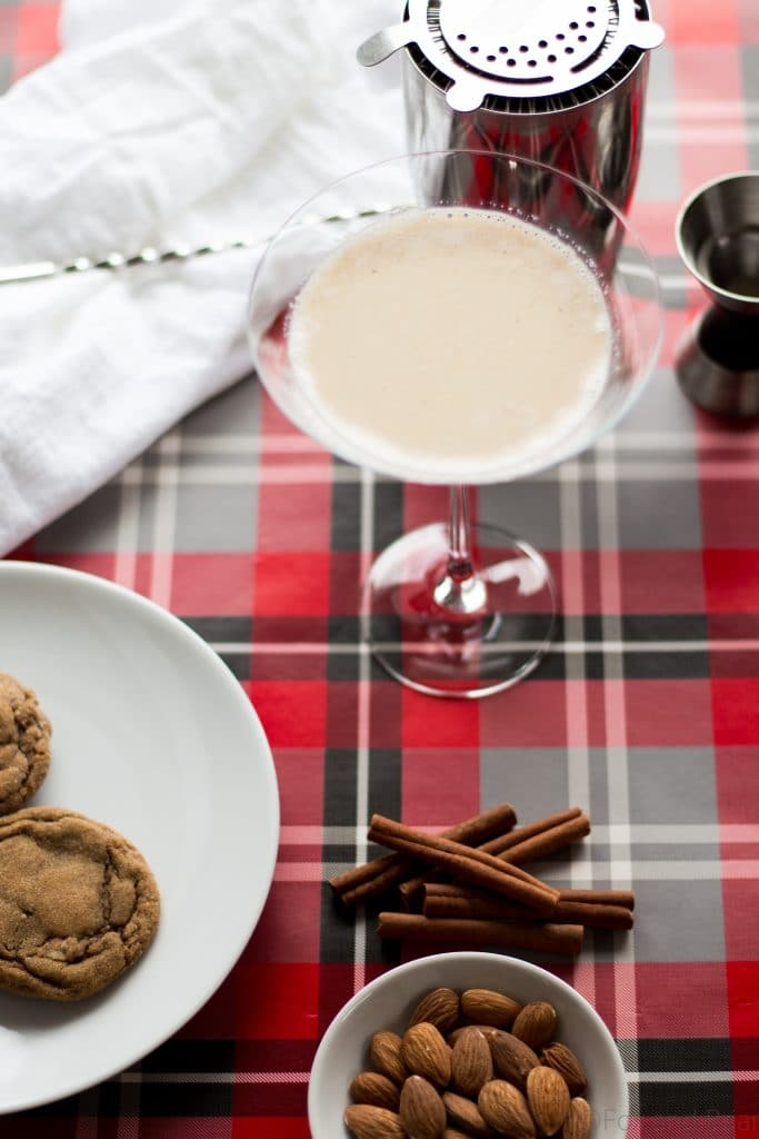 Gingerbread Martini - This festive martini is sweet and spicy, just like your favorite holiday cookie!