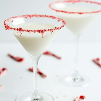 Peppermint Marshmallow Martini