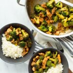 Buffalo Chicken and Broccoli Bowls