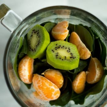 Kiwi Satsuma Green Smoothie