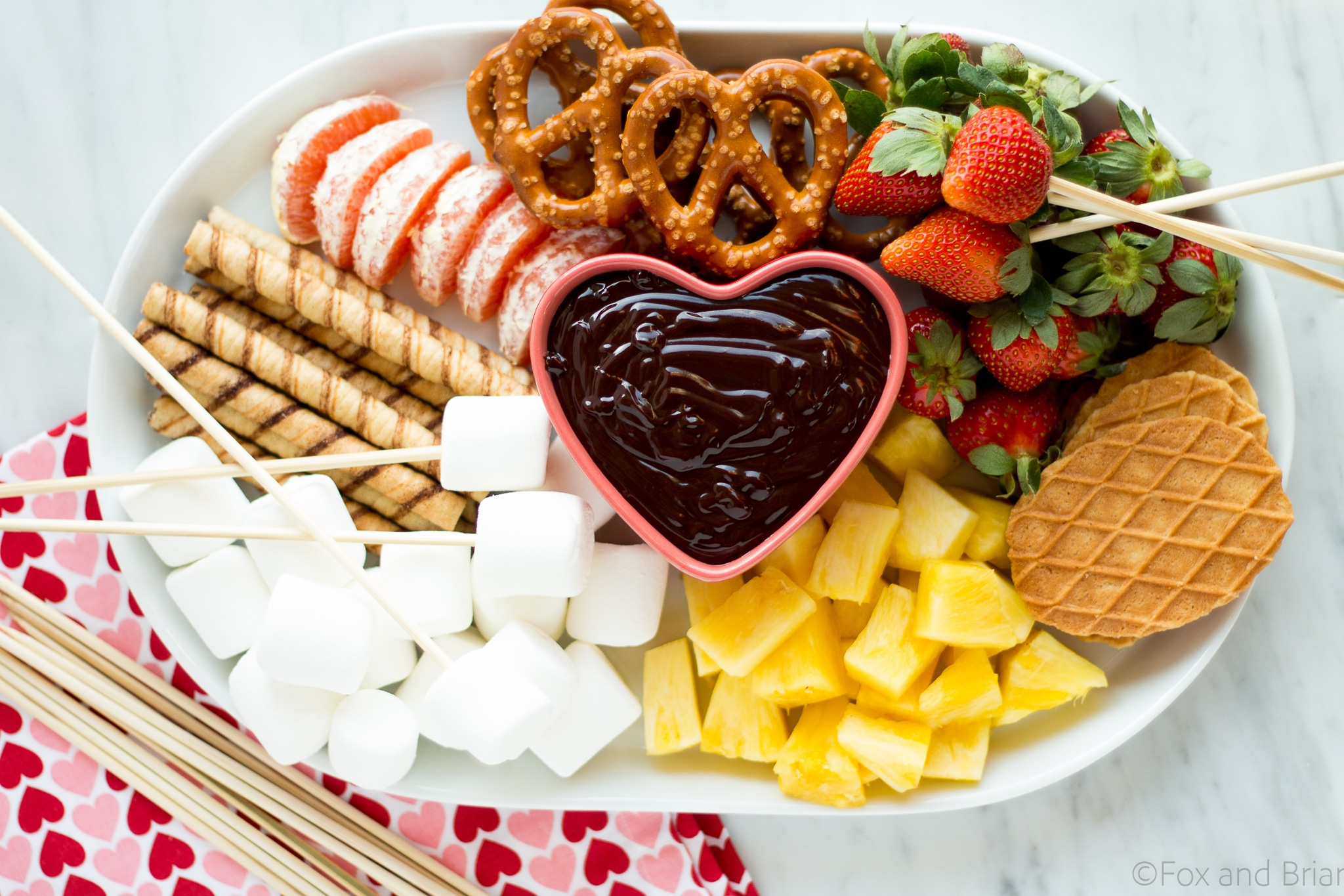 Fondue Dinner Party Ideas Part - 47: This Easy Chocolate Fondue Is A Fun Dessert For A Romantic Valentineu0027s Day  Dinner Or Party