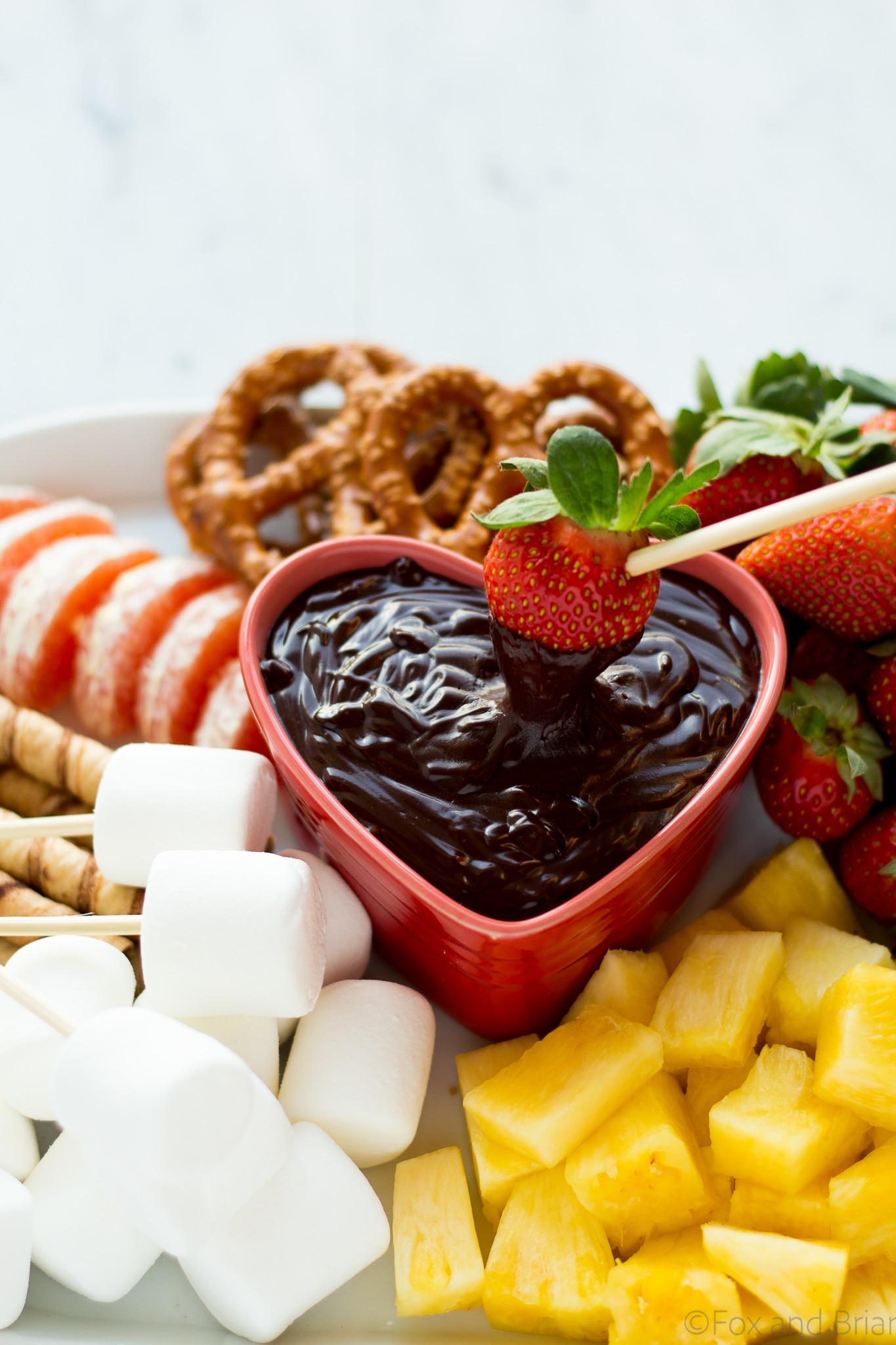 Chocolate Fondue - Fox and Briar