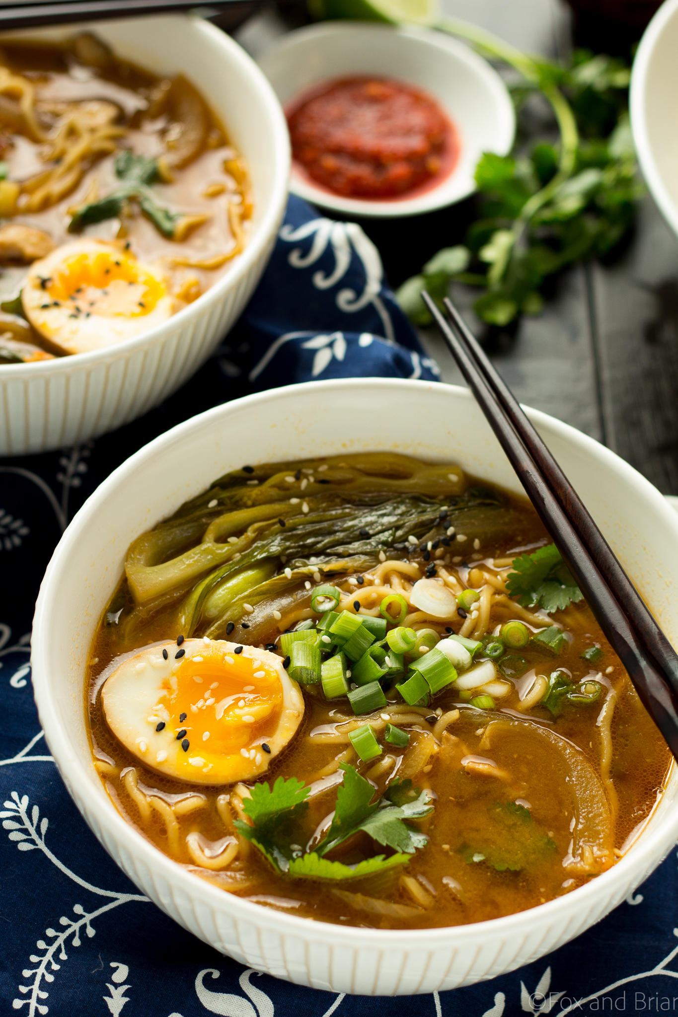 This Easy Chicken Ramen Can Be Made At Home In About 30 Minutes A Flavorful