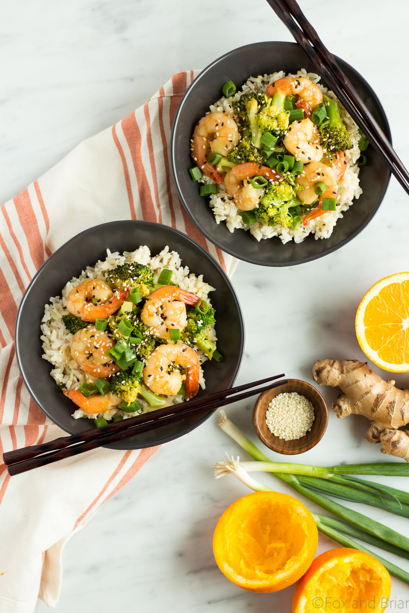 Orange Sesame Shrimp