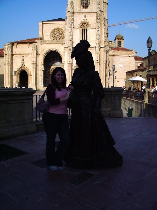 "With ""La Regenta"" in Oviedo"