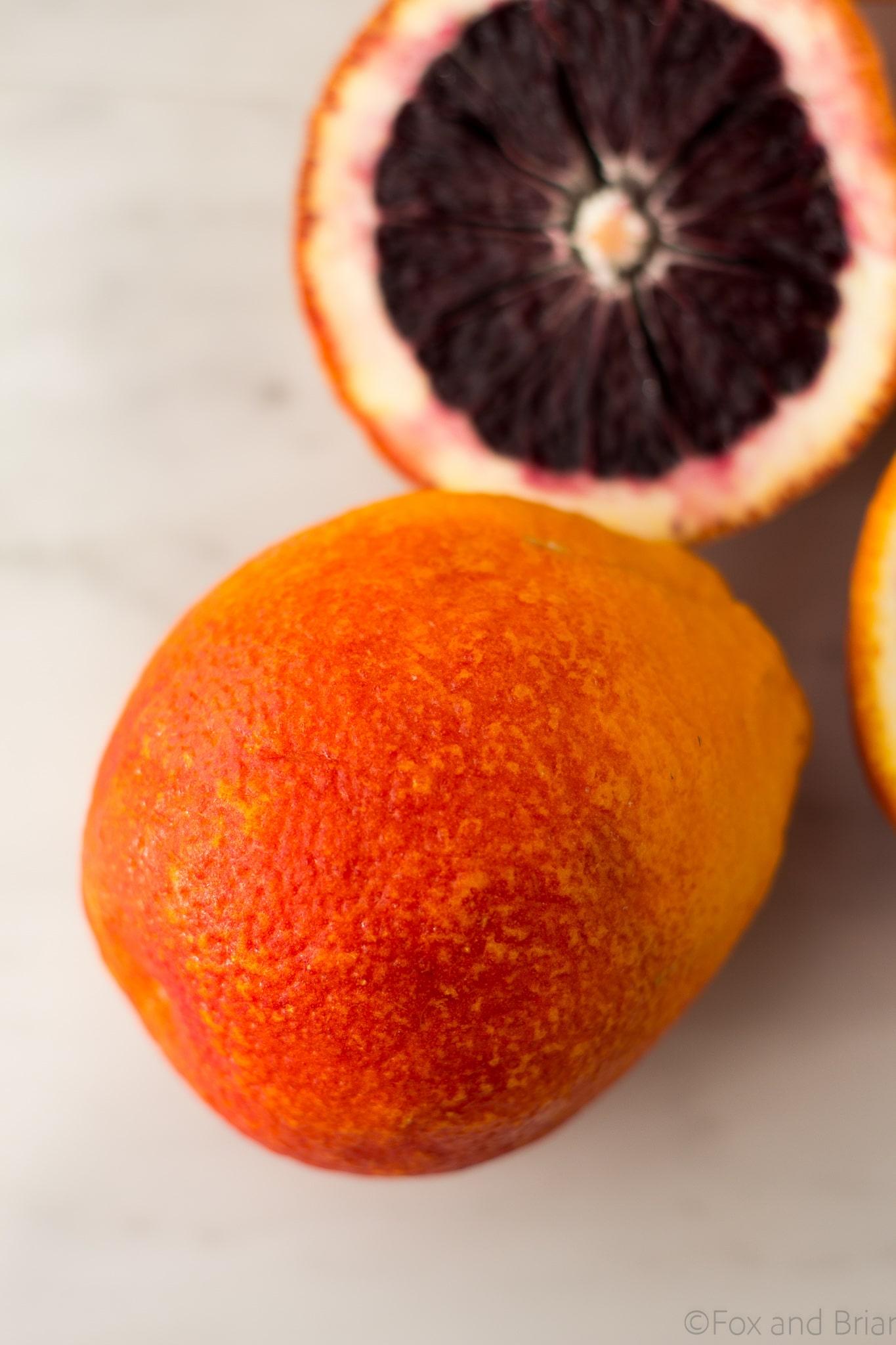 Blood Orange Margarita with Smoky Salt - Fox and Briar