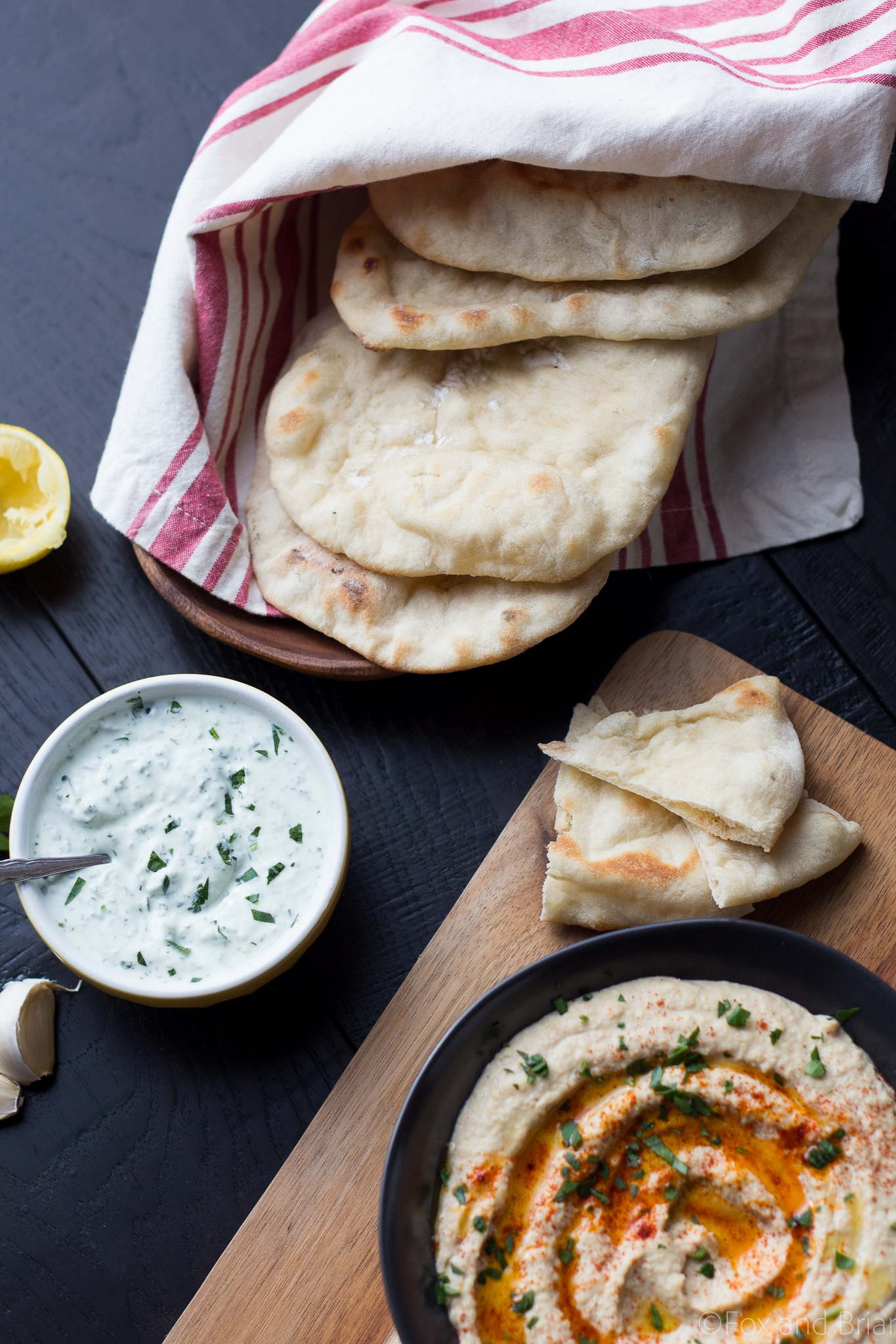Homemade Pita Bread is easy to make and is better than store bought!
