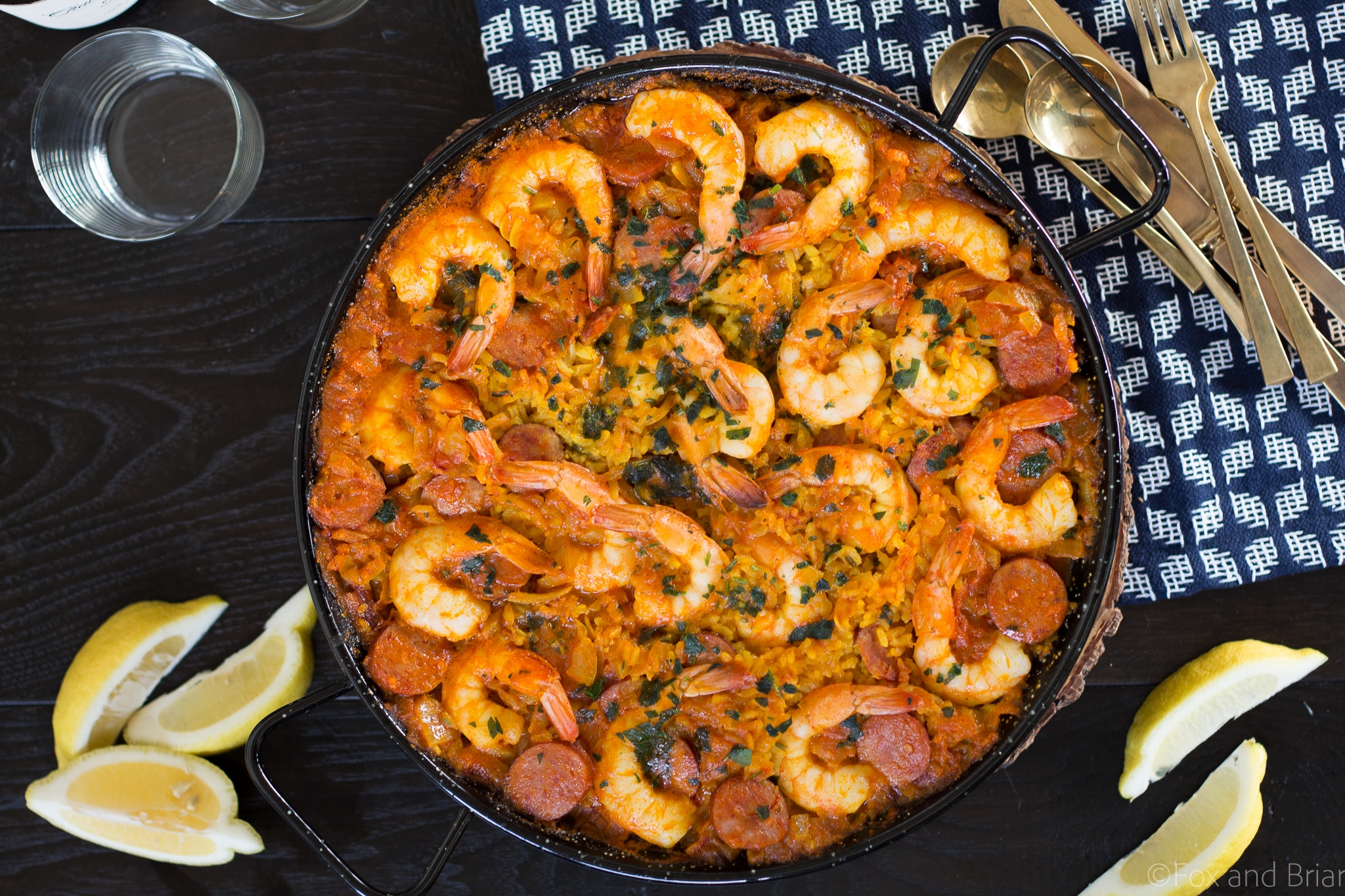 Shrimp and Chorizo Paella | How to make Paella | Spanish paella recipe | easy paella recipe | Spanish seafood paella recipe | authentic paella recipe | authentic seafood paella recipe