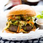 Asian Bison Burgers