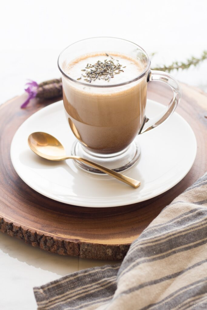 How To Make Coconut Lavender Coffee Drink