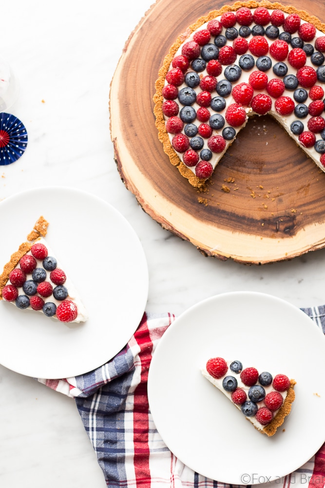 Red, White and Blueberry Tart (8 of 10)