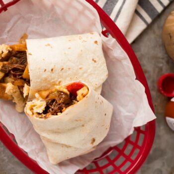 Make Ahead Beef Breakfast Burritos (Free...