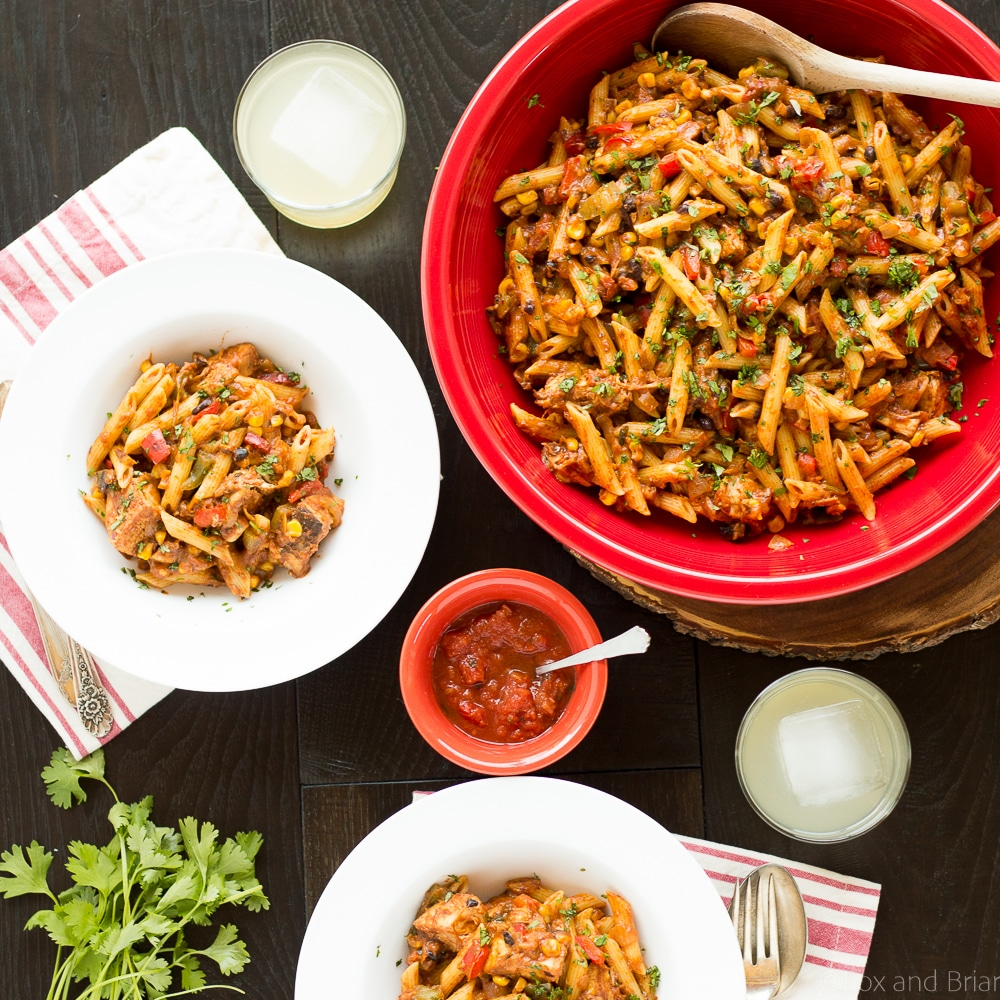 Chicken taco pasta and a giveaway fox and briar - Deseed pomegranate less one minute video ...