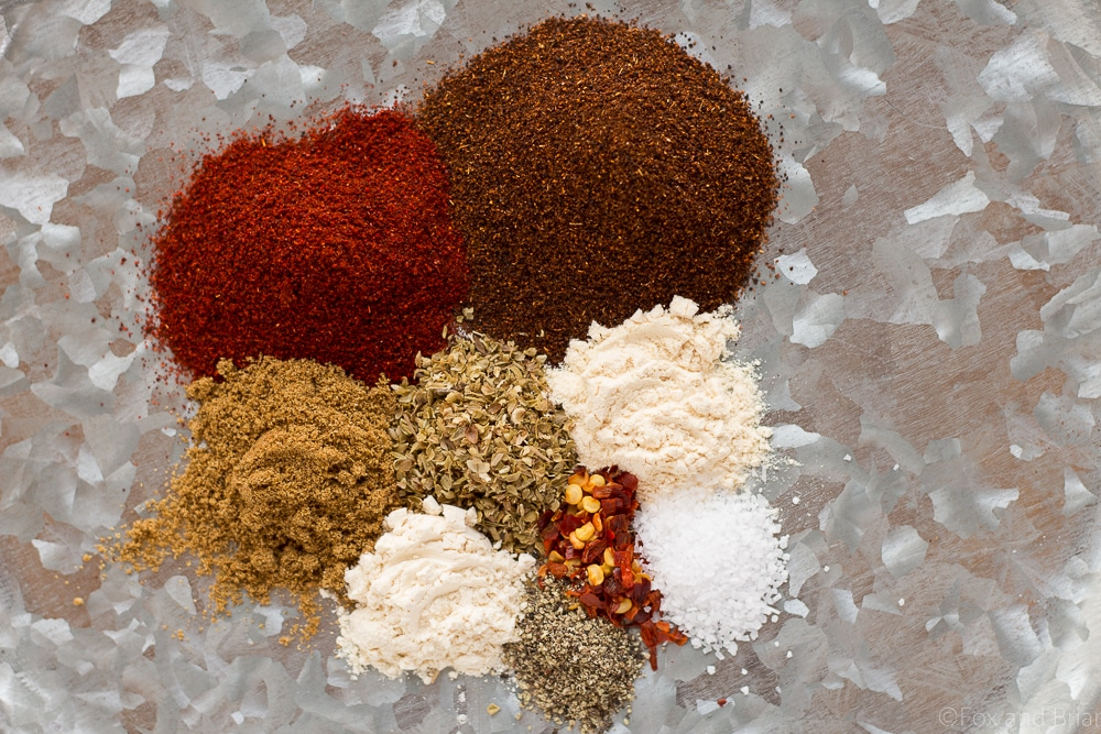 Learn how to make your own taco seasoning! I'll never buy store bought again! So much cheaper, healthier and tastes better!
