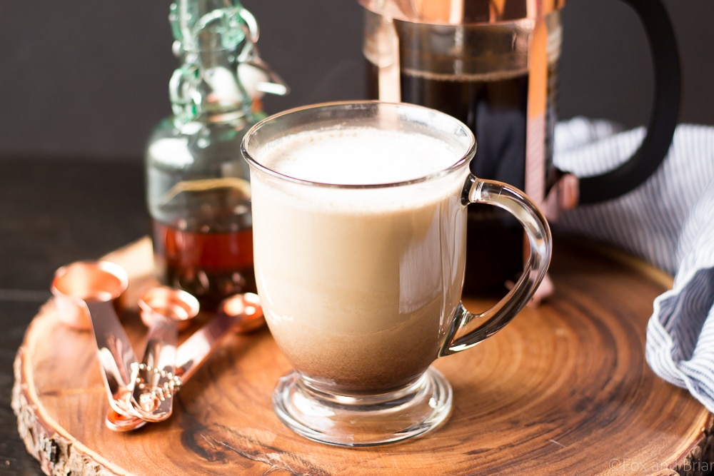how to make a latte at home easy