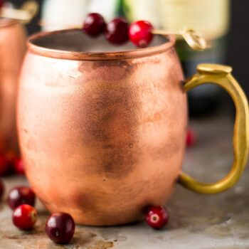 Cranberry Irish Mule