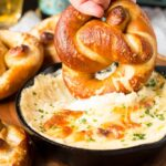 Soft Beer Pretzels with Beer Cheese Dip