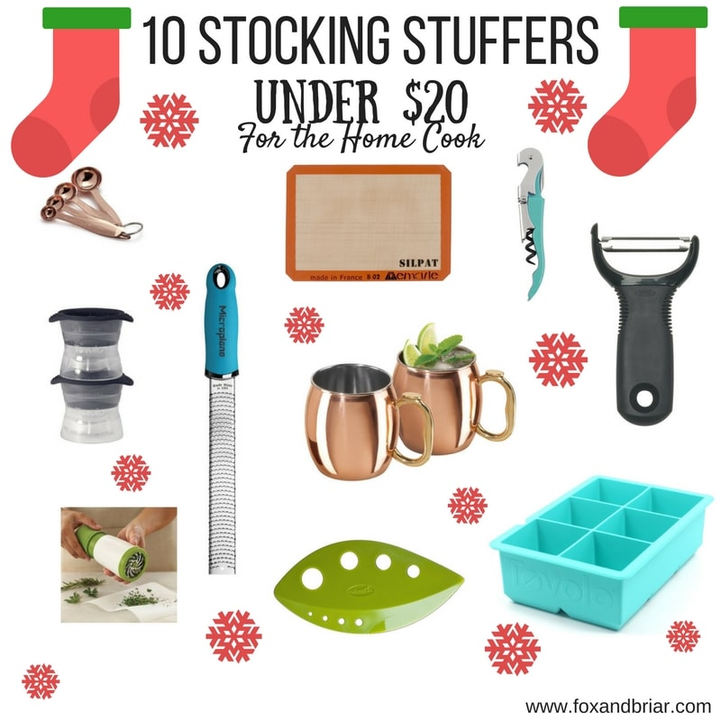 10 Stocking Stuffers Under 20 For The Home Cook Fox And