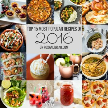 TOP 15 Recipes on fox and briar in 2016