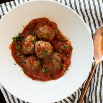 Make Ahead Meatballs (Paleo, Gluten Free...