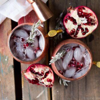 Pomegranate Irish Mule