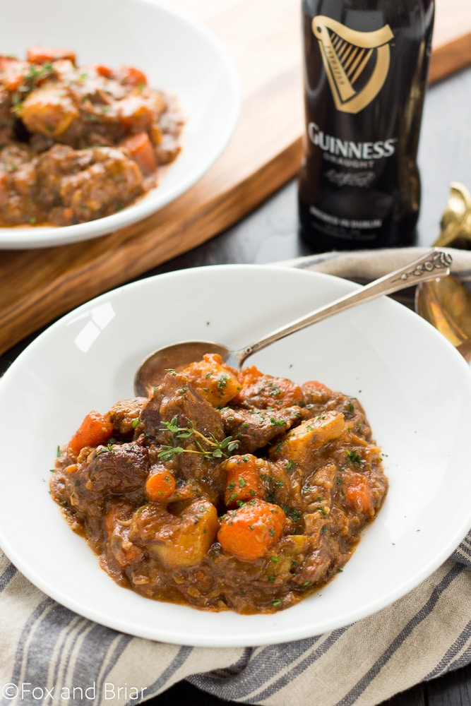 Guinness Irish Beef Stew | St. Patrick's Day Dinner | Irish Food | Beef Stew