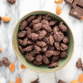 Dark Chocolate Almonds with Sea Salt and...