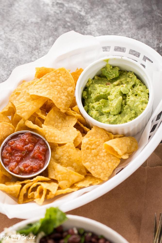 Super easy 4 ingredient guacamole