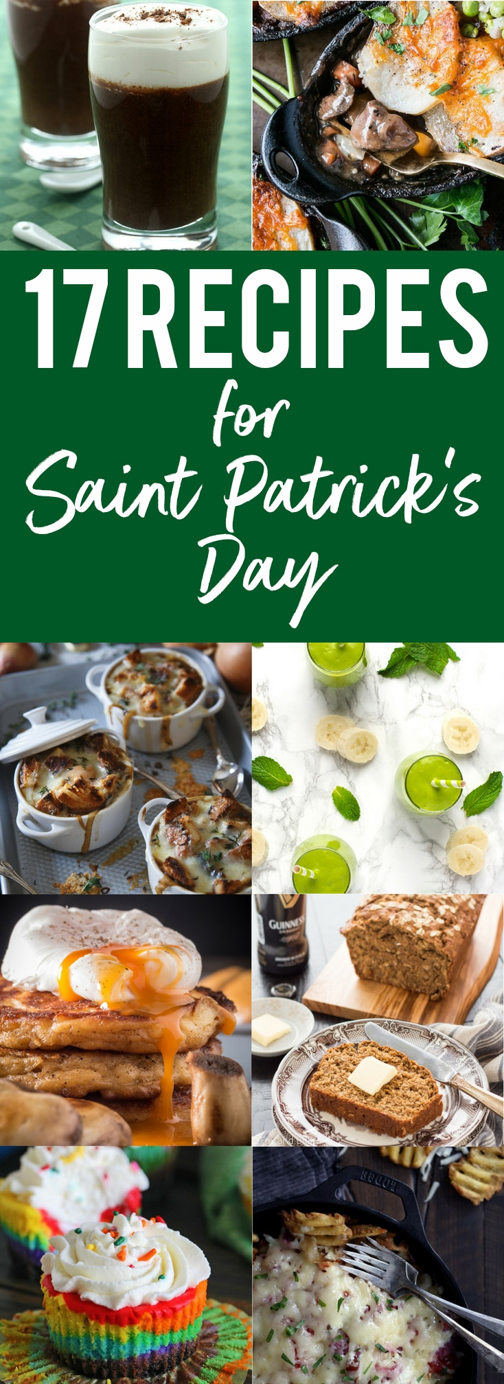 17 recipes for saint patricks day