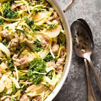 Easy Sausage and Cabbage Skillet