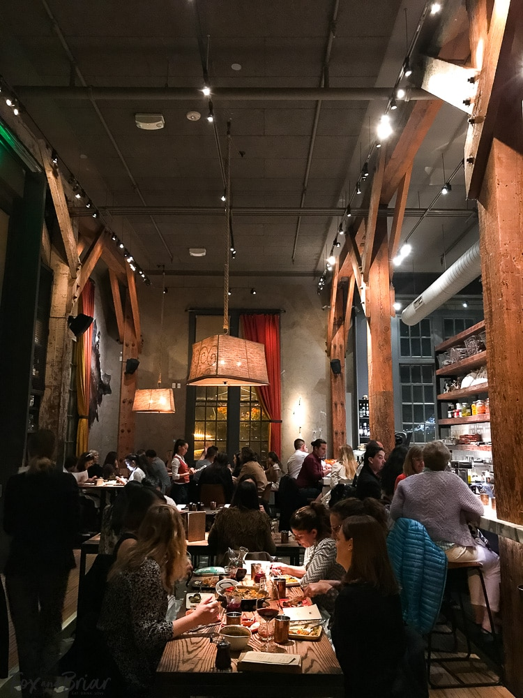 Dinner at Coqueta in San Francisco. What to do and where to eat in San Francisco. The Ultimate Weekend Travel Guide! How to spend a 3 day weekend in San Francisco | Best places to eat in San Francisco | tourist attractions San Francisco | Weekend trip to San Francisco | Things to do in San Francisco | Underrated things to do in San Francisco