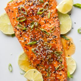 Sweet Chili Garlic Salmon