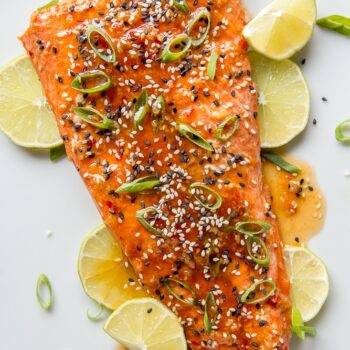Baked Sweet Chili Garlic Salmon
