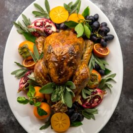 Easy Herb Butter Roasted Turkey