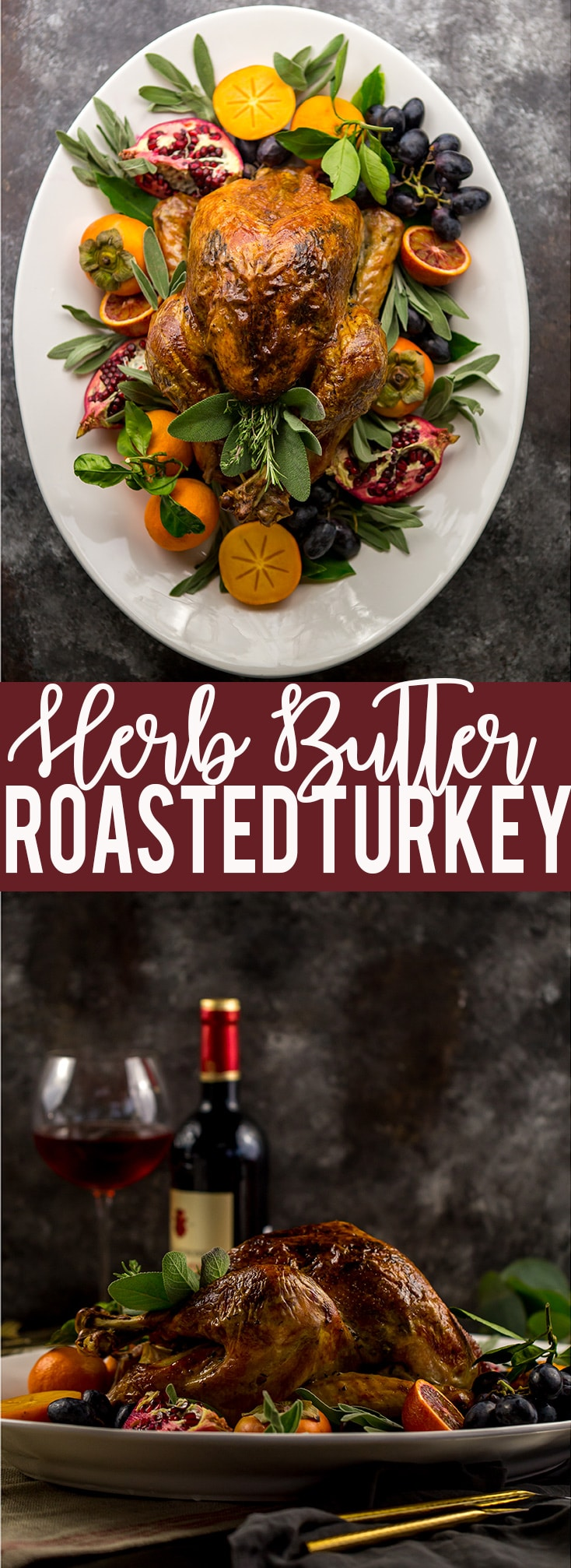 Easy Herb Butter Roasted Turkey | Thanksgiving Turkey Recipe | Turkey Seasoning | Oven Roasted Turkey | Low Carb Thanksgiving Turkey Recipe | Juicy Turkey Recipe | Turkey recipe using cheesecloth #turkey #thanksgiving #Thanksgivingturkey #thanksgivingrecipe