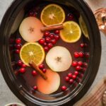 Crockpot Cranberry Pear Cider (From Scra...