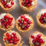 Pomegranate Goat Cheese Bites