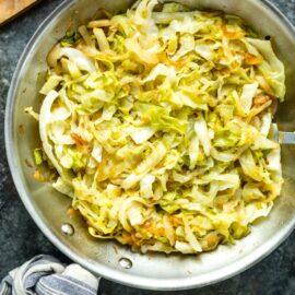 Easy Sauteed Cabbage Recipe