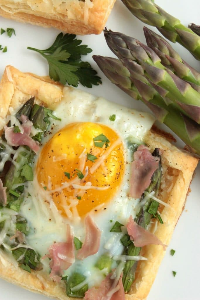 Individual Asparagus and Egg Tarts by Big Bears Wife