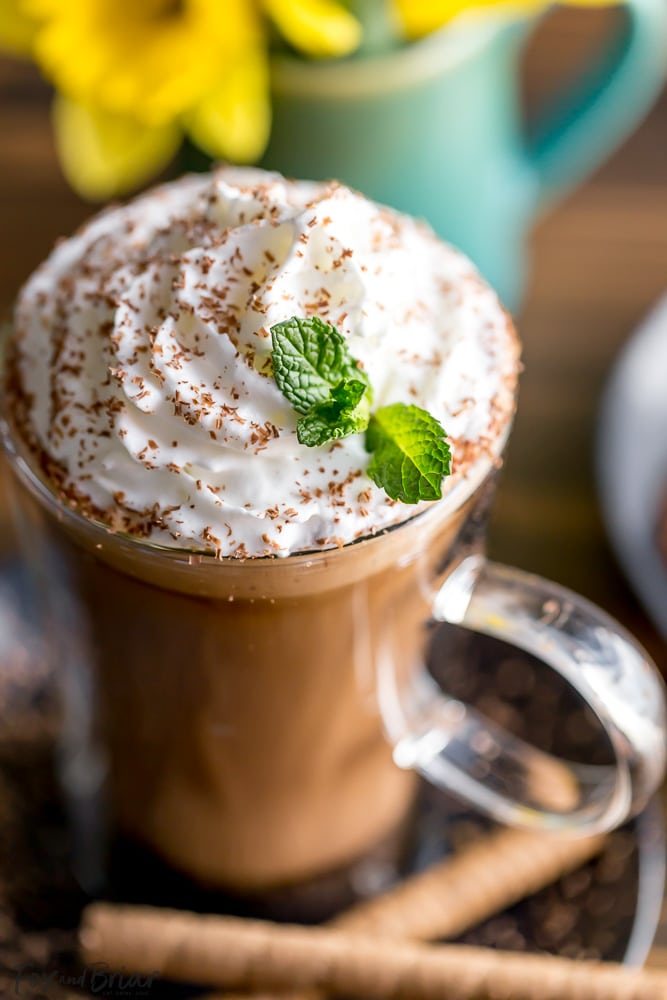 How to make an Irish Mocha