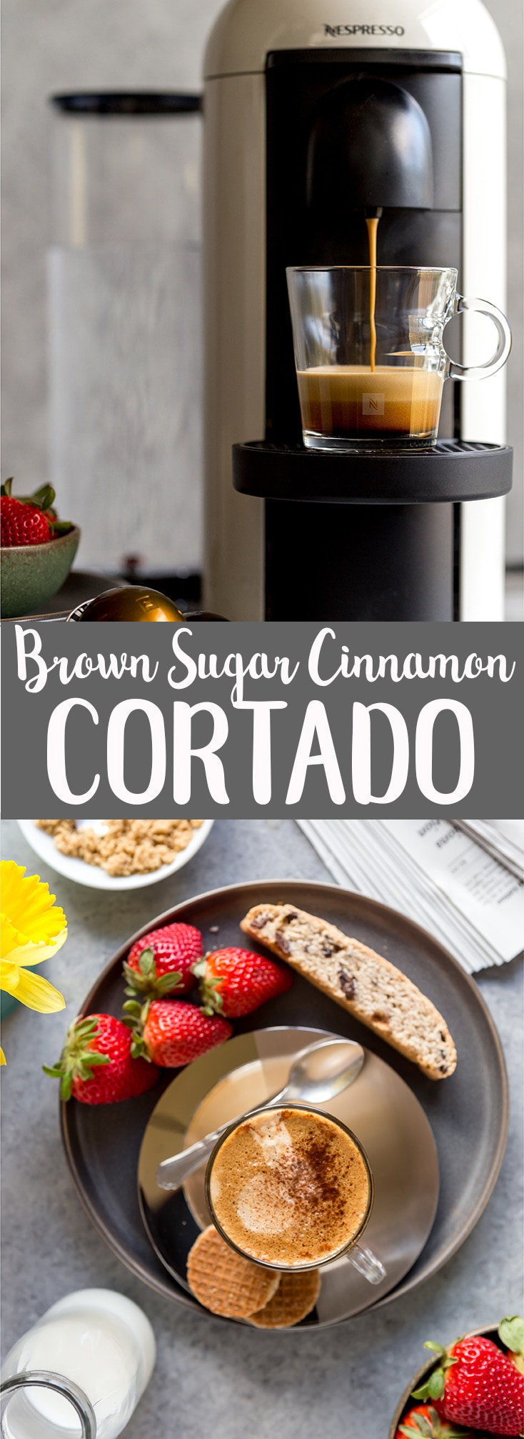 How to make a Brown Sugar Cinnamon Cortado at home | How to make an Irish Mocha at home | How to make a cortado | How to make a Mint Mocha at home | Fancy Coffee Drinks at home