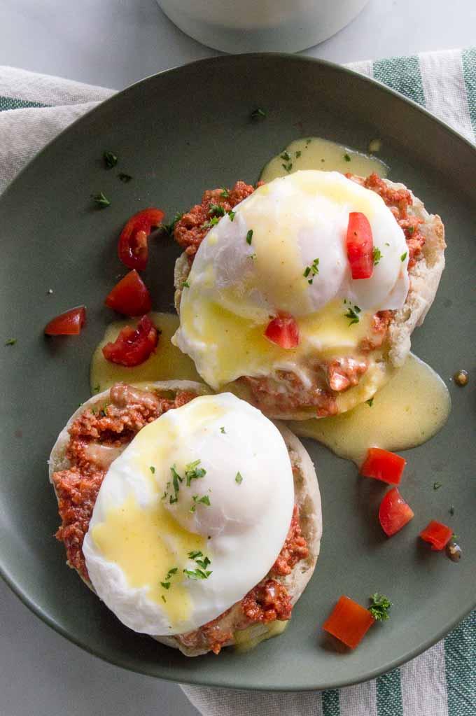 Italian Eggs Benedict - Fox and Briar